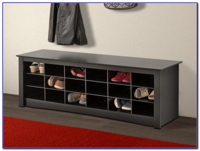 Entryway Storage Bench For Shoes