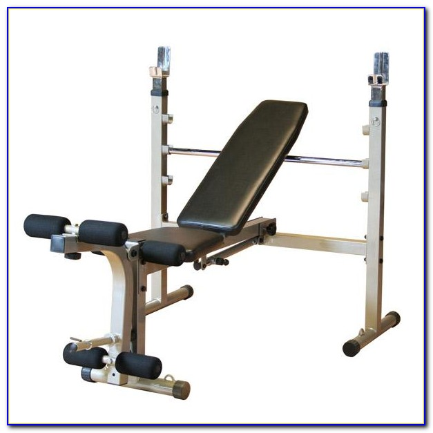 Exercise Bench With 30kg Weights