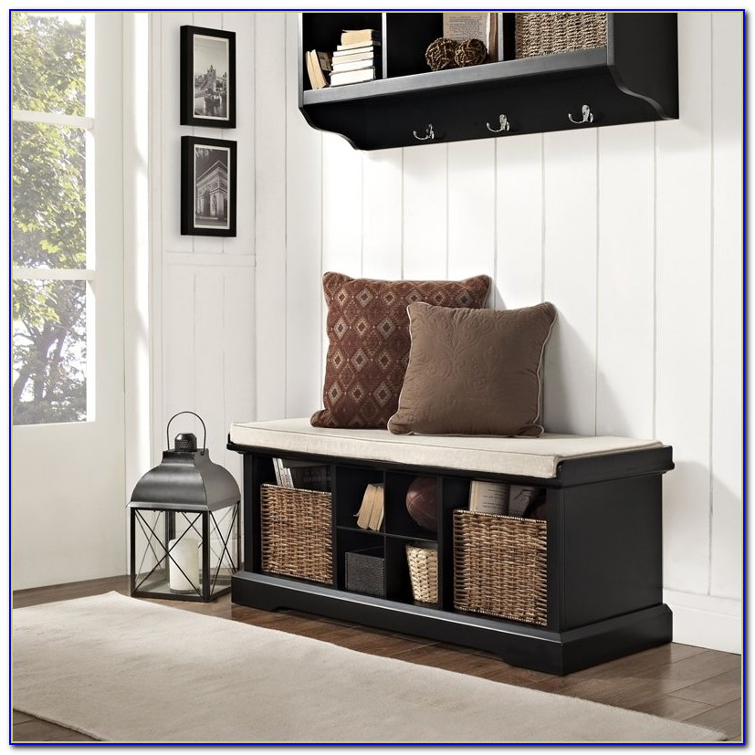 Foyer Bench With Shoe Storage