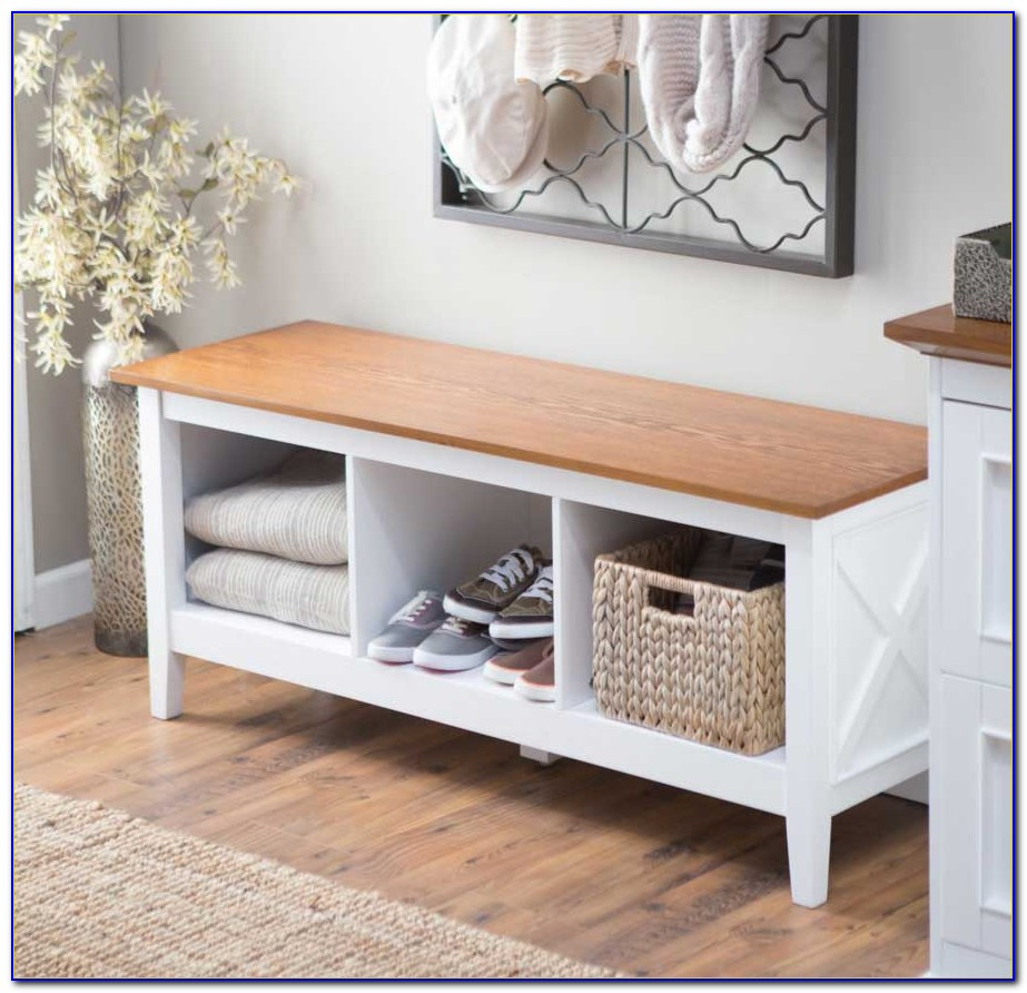Foyer Bench With Storage
