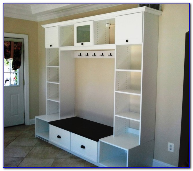 Foyer Benches With Shoe Storage