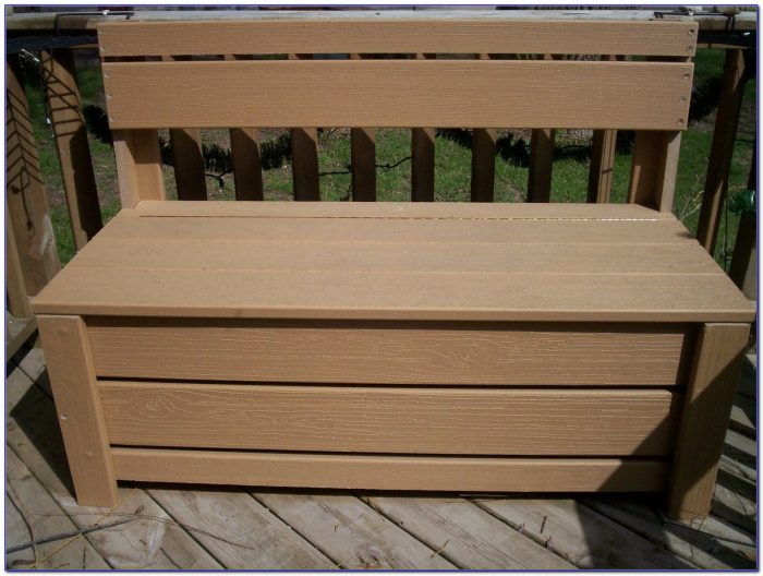 Garden Bench With Storage