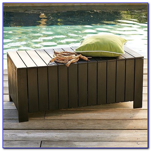 Garden Bench With Storage Box
