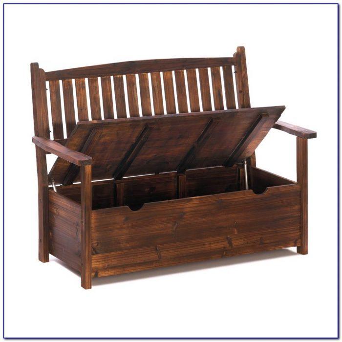 Garden Bench With Storage Uk