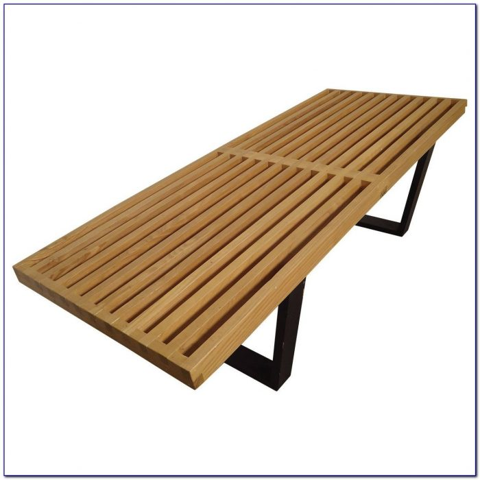 George Nelson Slat Bench 48