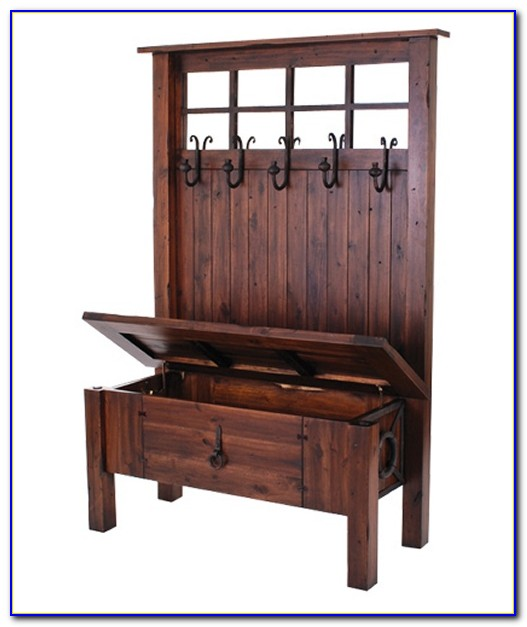 Hall Bench And Coat Stand