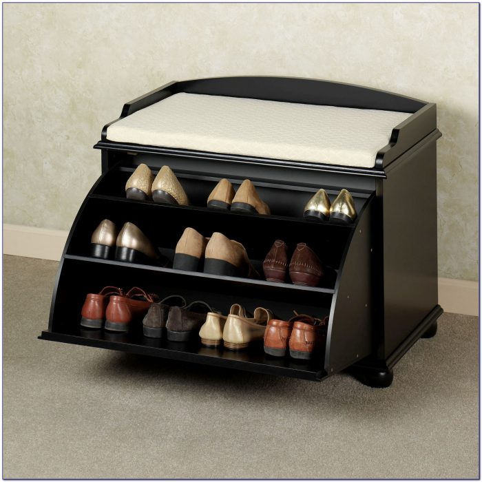 Hallway Storage Bench For Shoes