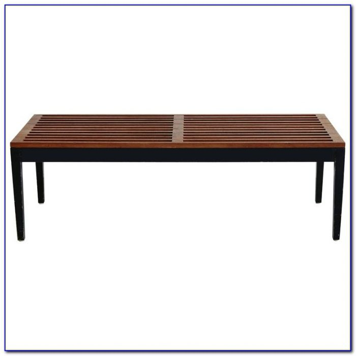 Herman Miller Nelson Bench Black