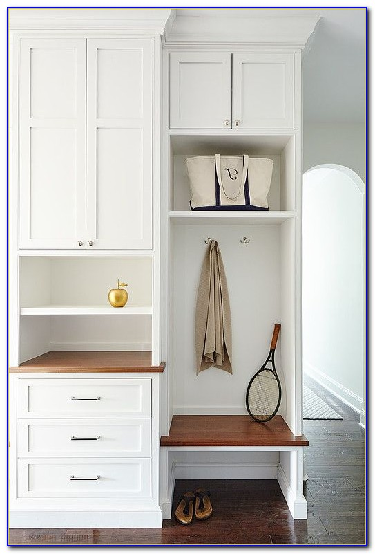 how to build mudroom built in bench
