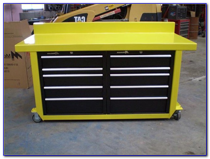 Mobile Tool Chest Workbench Bench Home Design Ideas