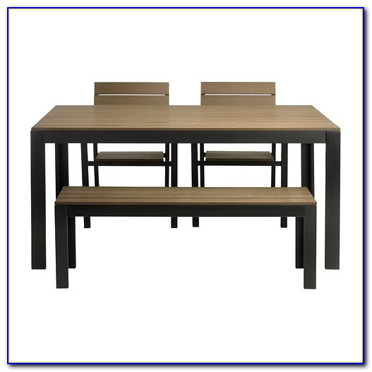 Ikea Dining Table And Bench Set