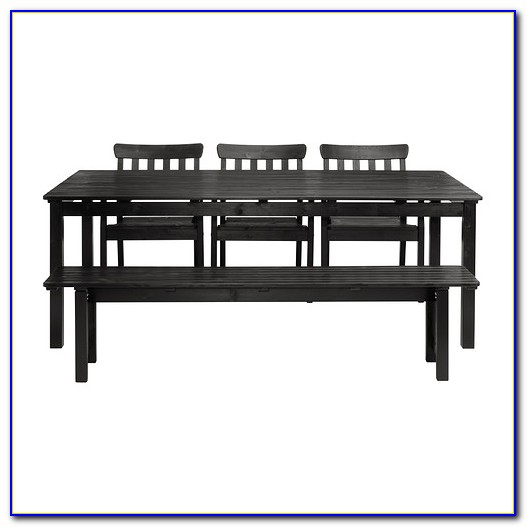 Ikea Dining Table With Bench Seats