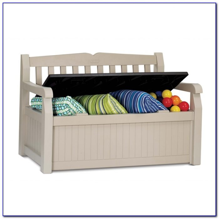 Keter Garden Bench With Storage