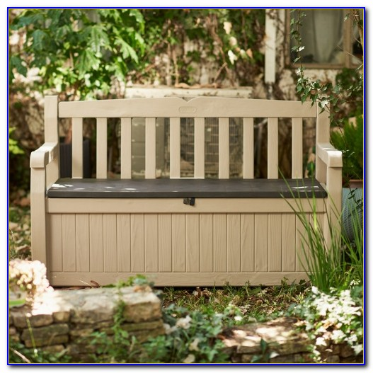 Keter Outdoor Bench Storage Box