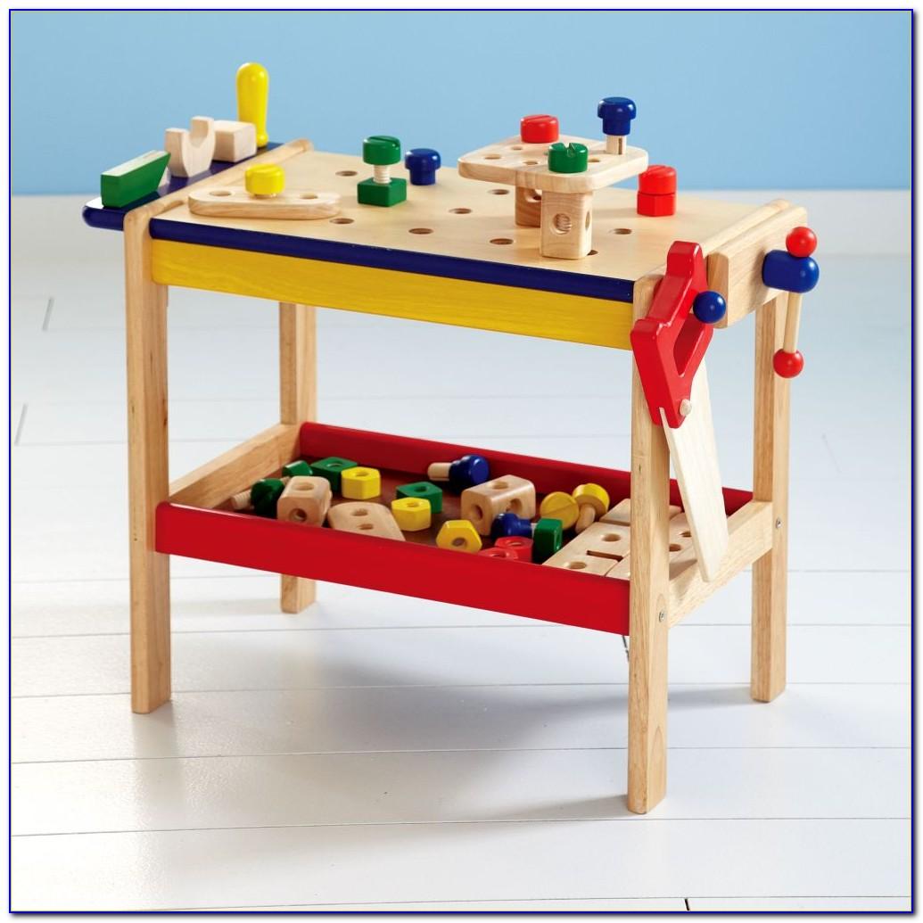 Kids Wooden Tool Bench