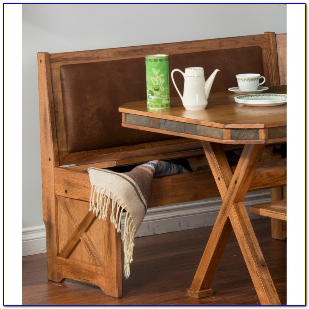 Kitchen Nook Bench With Storage