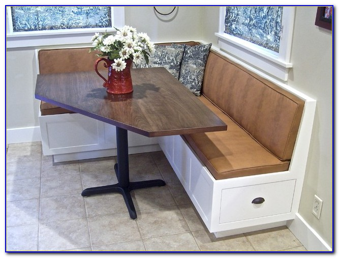 Kitchen Table With Corner Bench And Chairs