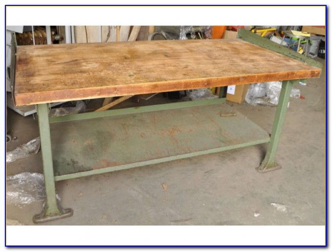 Maple Butcher Block Workbench