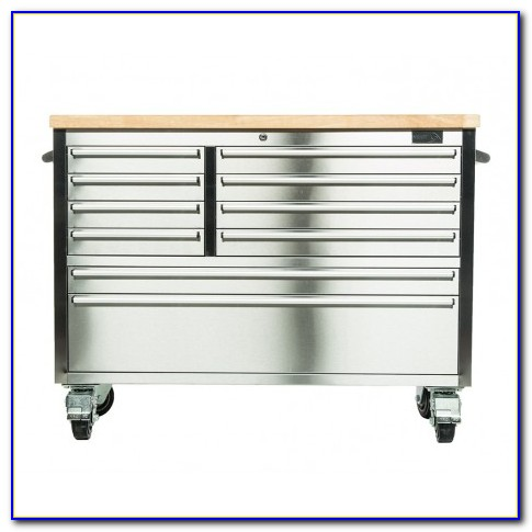 Mobile Tool Chest Workbench