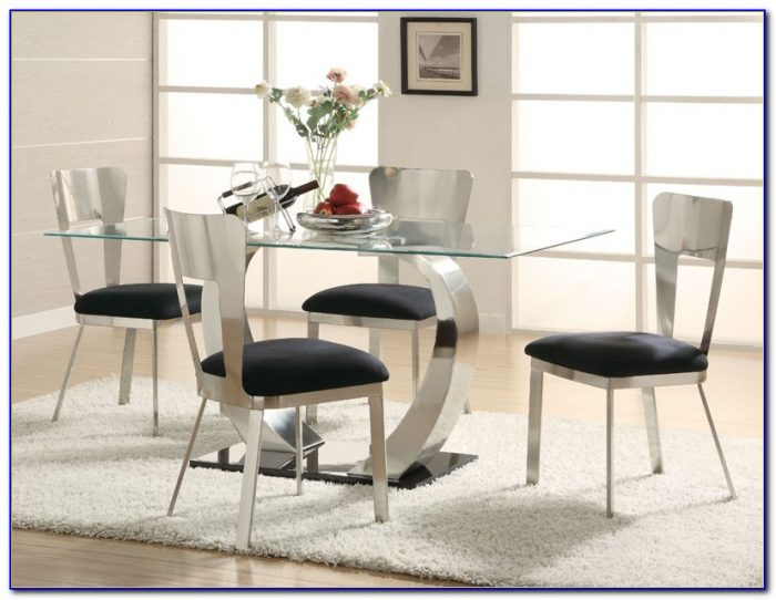 Modern Dining Table With Bench Seats