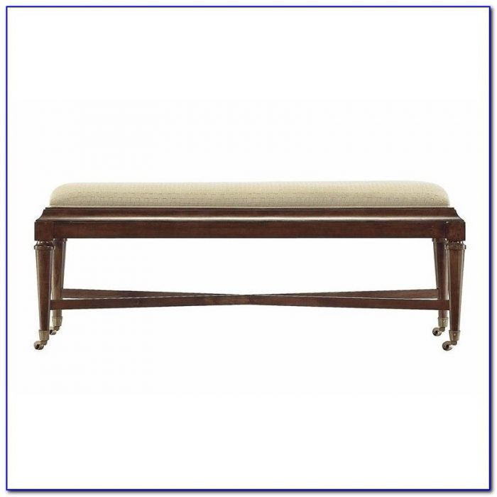Bedroom Bench With Rolled Arms