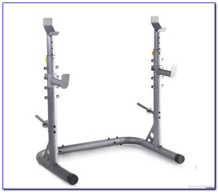 Nautilus Olympic Weight Bench And Squat Rack