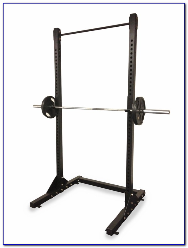Nautilus Squat Rack Bench Press