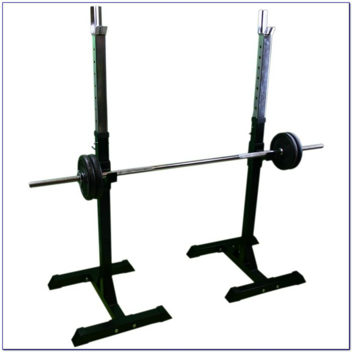 Nautilus Weight Bench Squat Rack