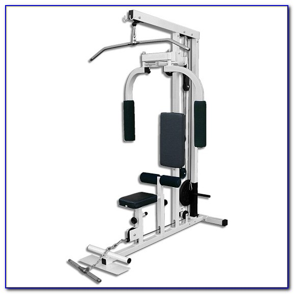 Nautilus Weight Bench With Lat Pulldown