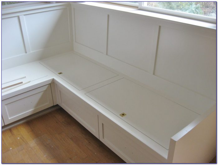 Nook Corner Bench With Storage