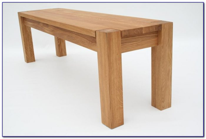 Oak Bench For Dining Room Table