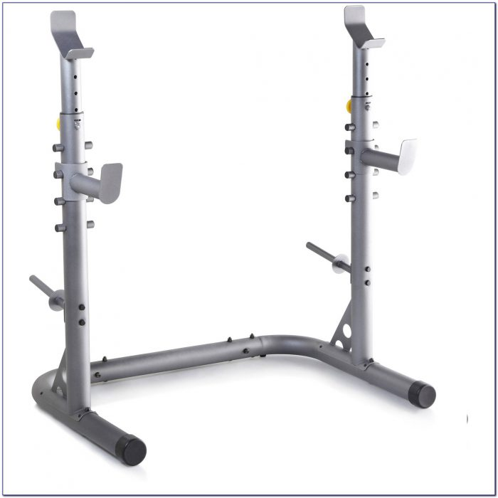 Olympic Weight Bench Squat Rack
