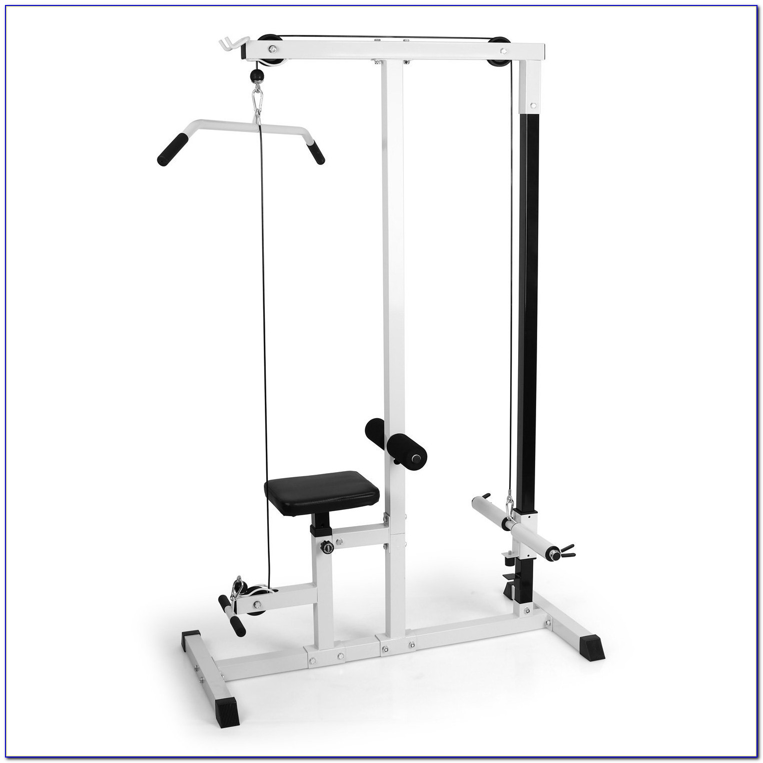 Olympic Weight Bench With Lat Pulldown