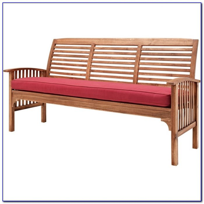 Outdoor 3 Seater Bench Cushions