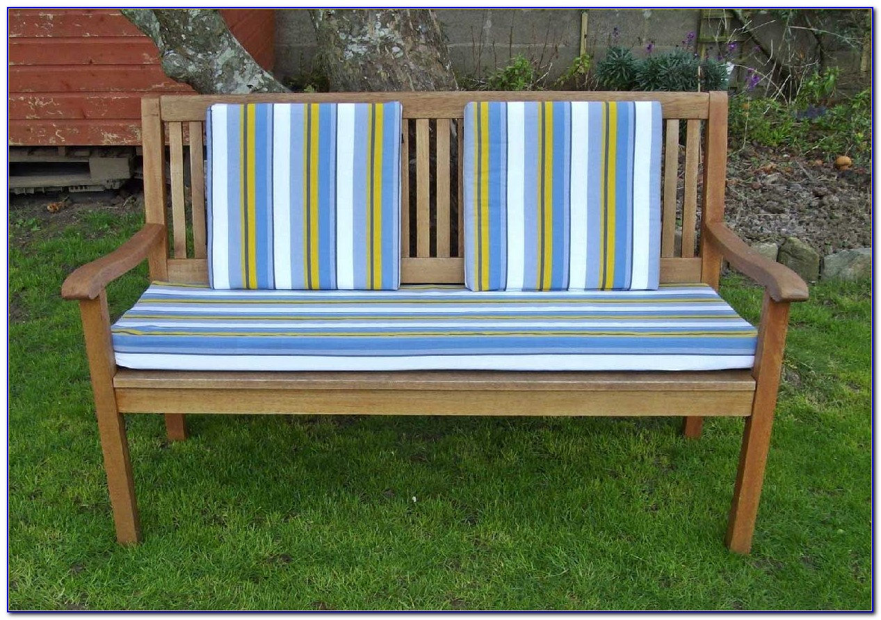 Outdoor Bench Cushion With Back