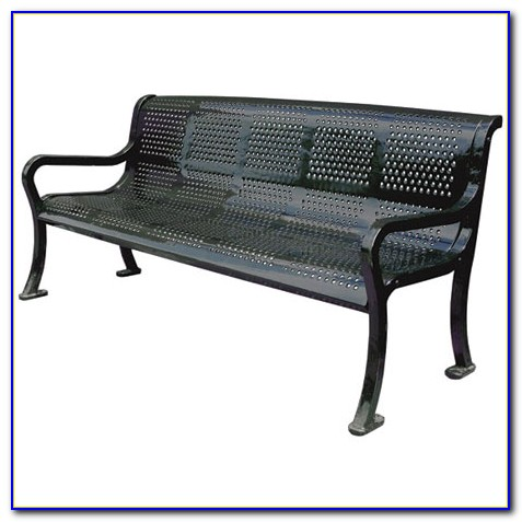 Outdoor Metal Benches For Schools