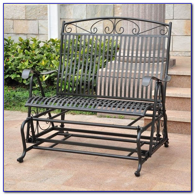 Outdoor Metal Glider Furniture