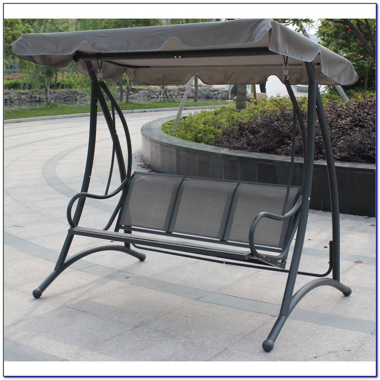 Patio Swing With Canopy Target