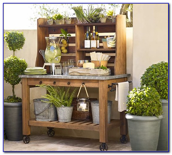 Potting table plans with sink bench home design ideas for Pottery barn bench plans