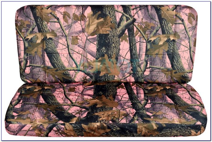 Realtree Girl Bench Seat Cover