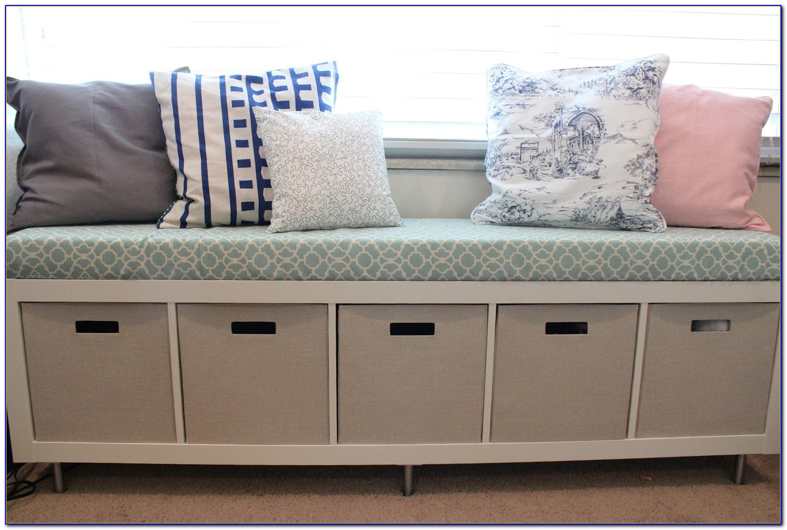 Sitting Bench With Shoe Storage