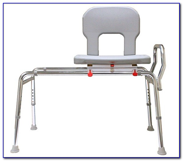 Tub Mount Sliding Transfer Bench With Swivel Seat Bench