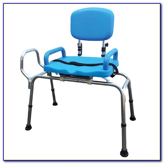 Sliding Transfer Bench With Swivel Seat Canada