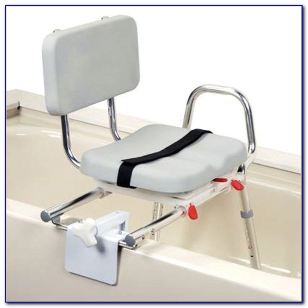 Sliding Tub Transfer Bench With Swivel Seat