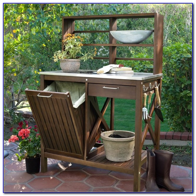 Amazon Potting Bench With Storage Bench Home Design