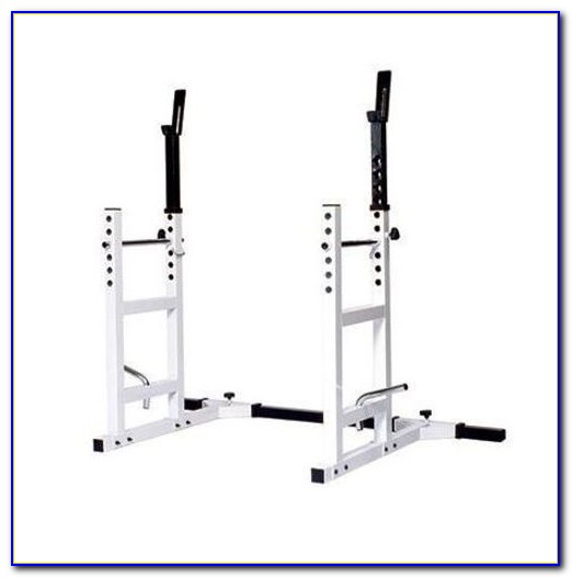 Squat Rack Bench Press Pull Up Combo