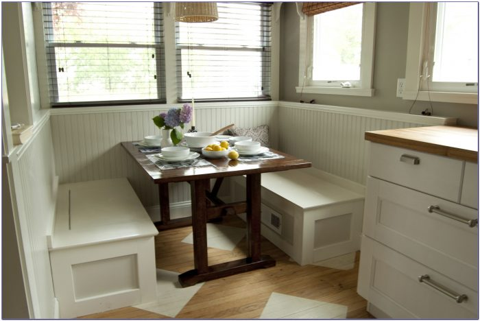 Storage Bench For Breakfast Nook
