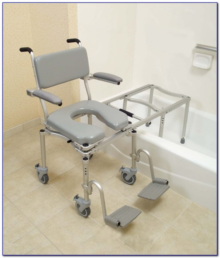 Swiveling Sliding Transfer Bath Bench