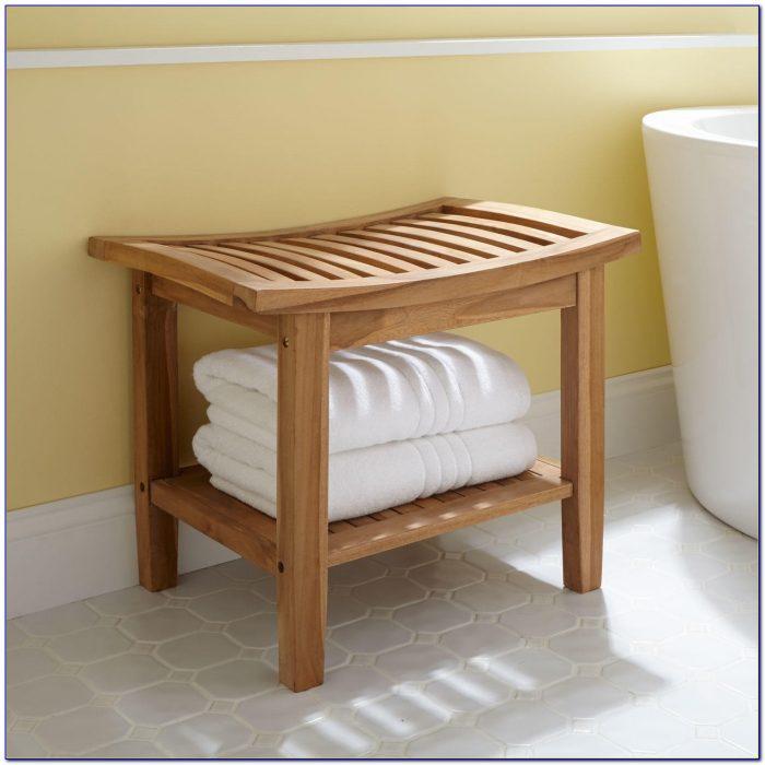 Teak Bench For Bathroom