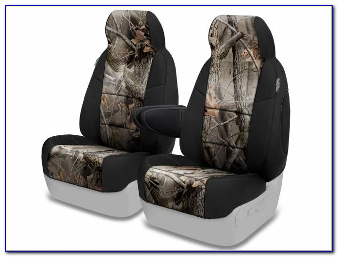 Team Realtree Bench Seat Cover